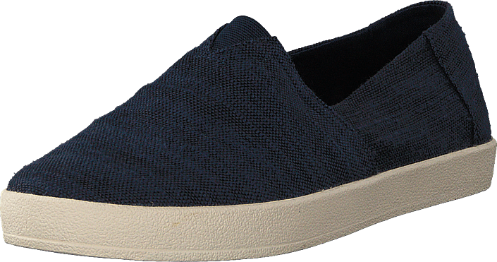 Toms - Avalon Navy Slubby Cotton