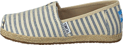Alpargata Youth Sky Woven Stripe Rope Sole
