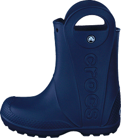 san francisco dd980 f1a76 Crocs - Handle It Rain Boot Kids Navy
