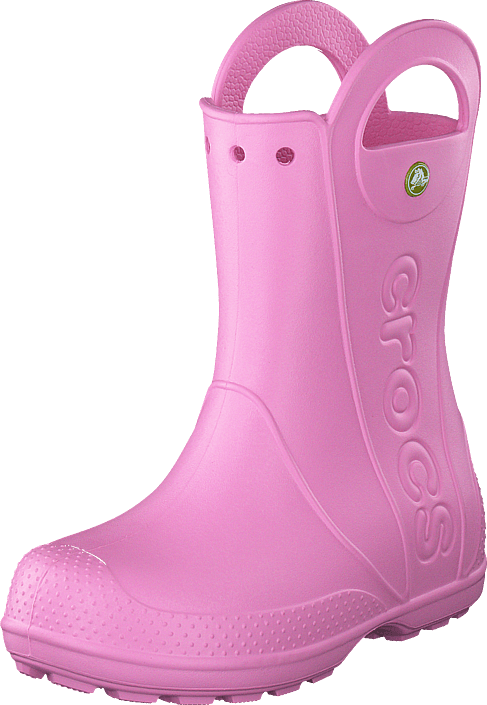 Crocs Handle It Rain Boot Kids Carnation rosa Skor Online
