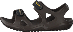 Swiftwater River Sandal M Espresso/black