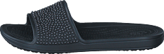 Crocs Sloane Embellished Slide Black/black