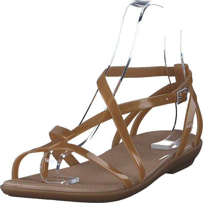 c5d5b4a469e Buy Crocs Isabella Gladiator Sandal W Dark Gold gold brown Shoes ...