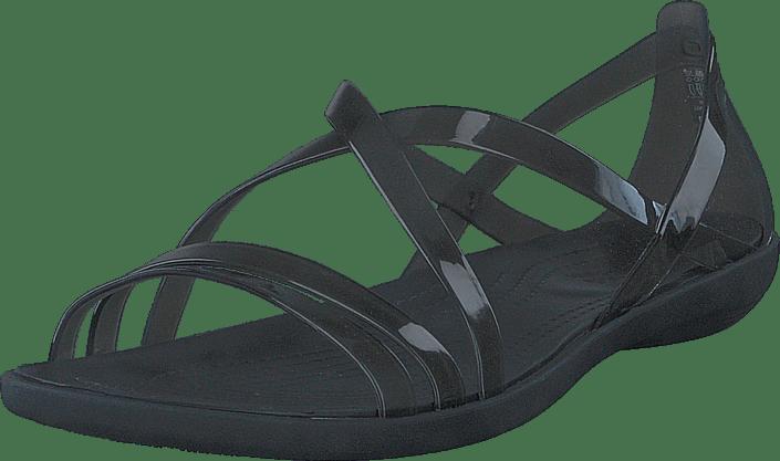 9b902845e4fba0 Buy Crocs Isabella Strappy Sandal Black grey Shoes Online
