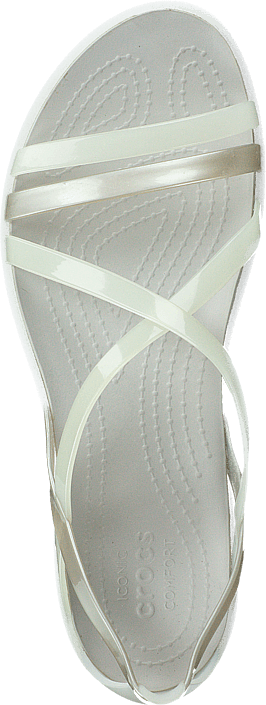 Crocs - Isabella Strappy Sandal Oyster/pearl White