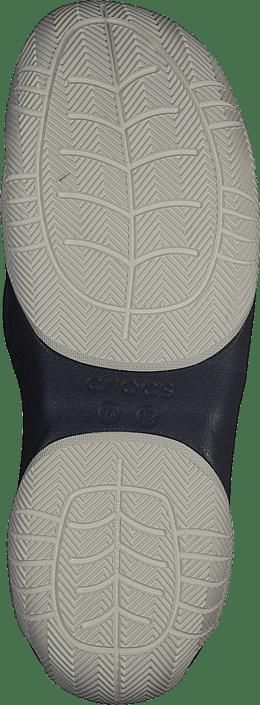 Crocs Swiftwater Deck Flip M Navy/white Chaussures Homme