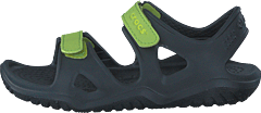 Swiftwater River Sandal K Black/volt Green