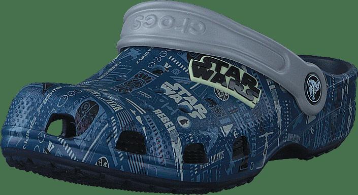 Classic Star Wars Grph Clog K Navy
