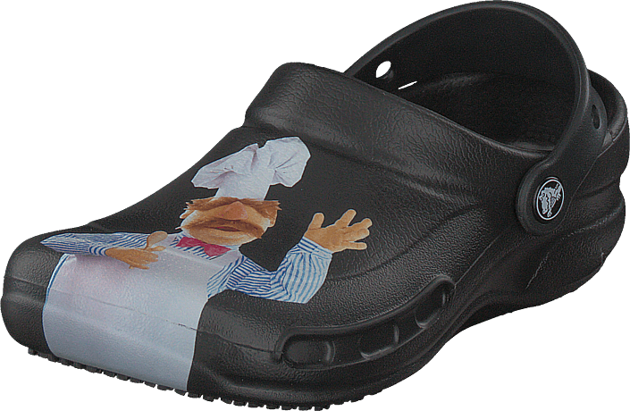 Bistro Swedish Chef Clog Black/light Blue