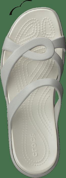 Kjøp Crocs Meleen Twist Sandal W Pearl White/oyster Sko Online