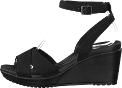 a28c8dceff440 Crocs - Leigh Ii Ankle Strap Wedge W Black black