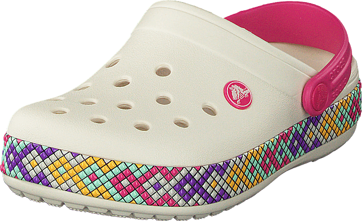 7110fb45c58657 Buy Crocs Crocband Gallery Clog K Oyster pink Shoes Online