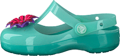 Crocs Isabella Emb Clog Ps Mint