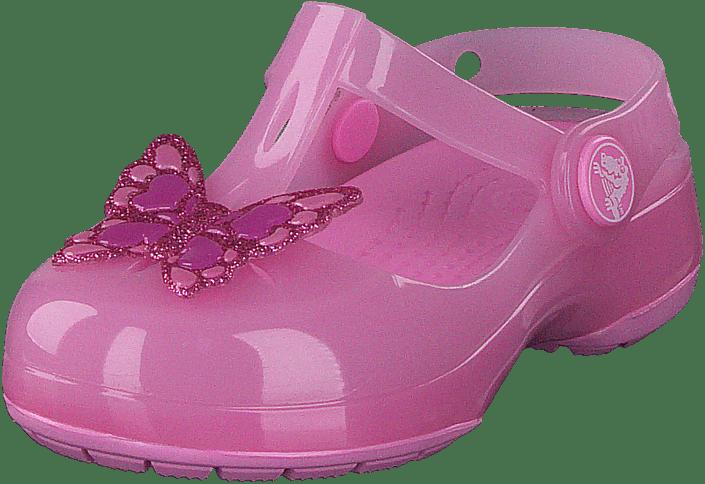 Crocs Isabella Emb Clog Ps Carnation