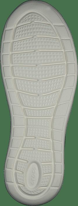 Crocs - Literide Slipon W Black/rose Gold/white