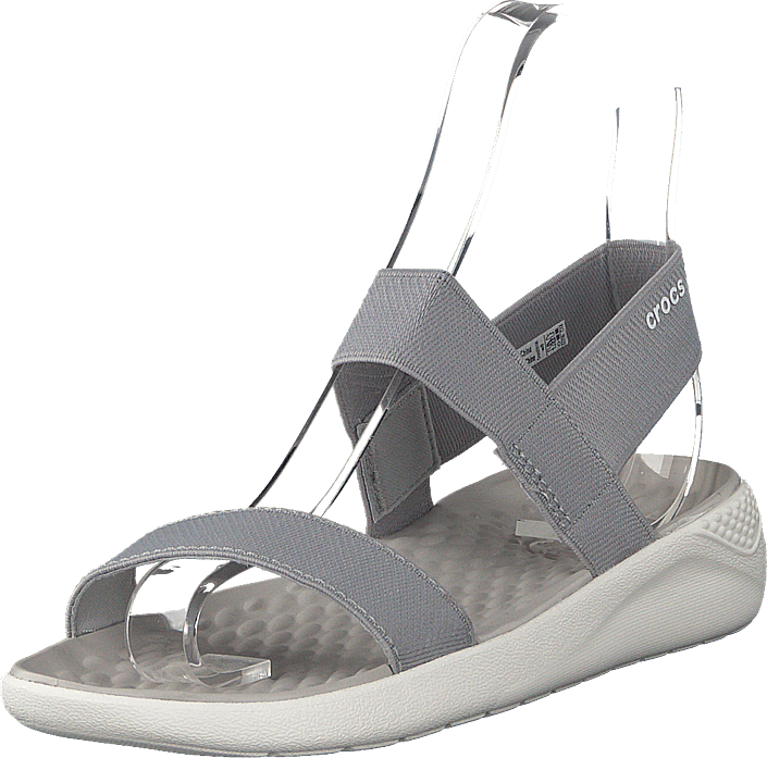 Crocs - Literide Sandal W Light Grey/white