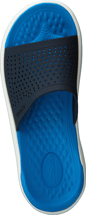 Crocs - Literide Slide Navy/white
