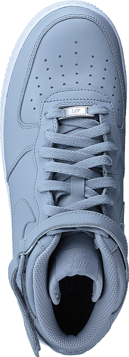Kjøp Nike Air Force 1 Mid '07 Wolf Grey/wolf Grey-white Sko Online