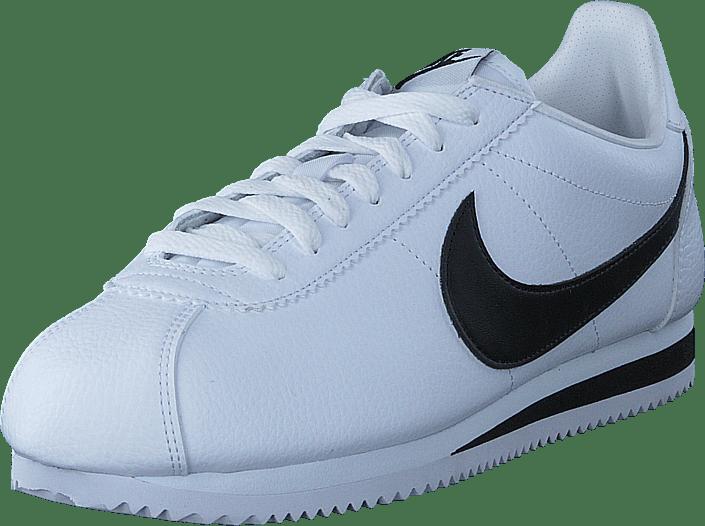 Classic Cortez Leather White/black