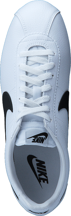 quality design cc251 37799 Nike - Classic Cortez Leather White black