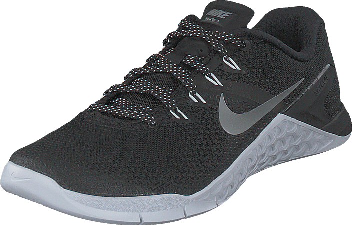 cheap for discount eccf5 ac222 Nike - Womens Nike Metcon 4 Blackmetallic Silver-white
