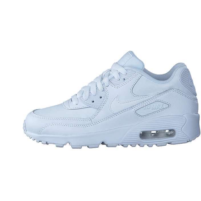 Nike Air Max 90 Youth GS shoes white green blue