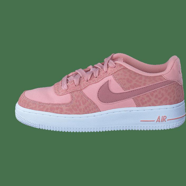 fc49c4555d0 Köp Nike Nike Air Force 1 Lv8 (gs) Coral Stardust rust Pink-white rosa Skor  Online