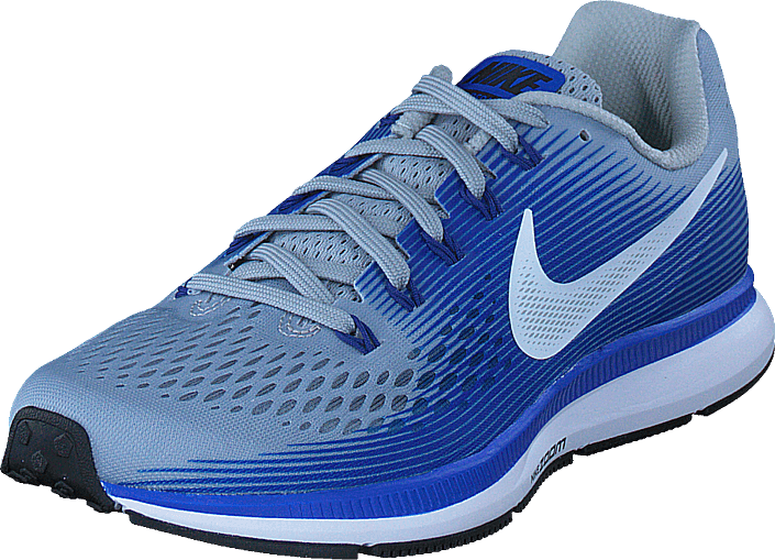 9b428eadf297e Buy Nike Nike Air Zoom Pegasus 34 Grey white-blue-royal Blue-bl ...