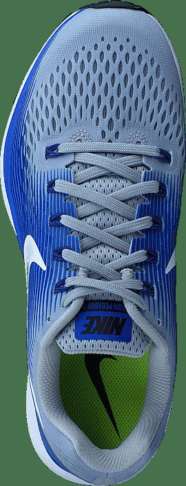 Nike - Nike Air Zoom Pegasus 34 Grey/white-blue-royal Blue-bl.