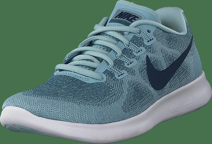 Wmns Nike Free Rn 2017 Ocean/nvy-blue-aqua-turq-wh.