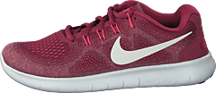 Wmns Nike Free Rn 2017 Wine/white-rose-pulse-red