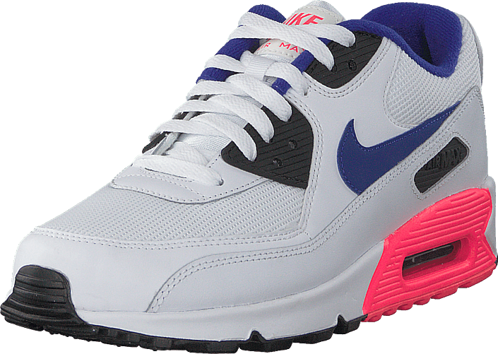 le dernier 69718 80aac Nike Air Max 90 Essential White/ultramarine-redblack