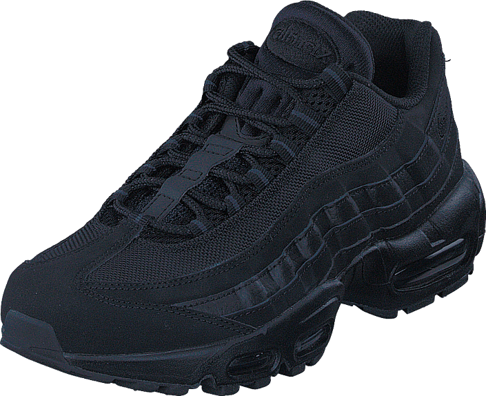 Buy Nike Air Max  95 Black black-anthracite black Shoes Online ... 31d6ccbaa4fe