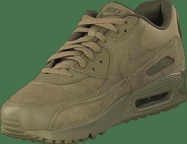 Men's Nike Air Max 90 Premium Olive/neutral Olive Medium | Des ...