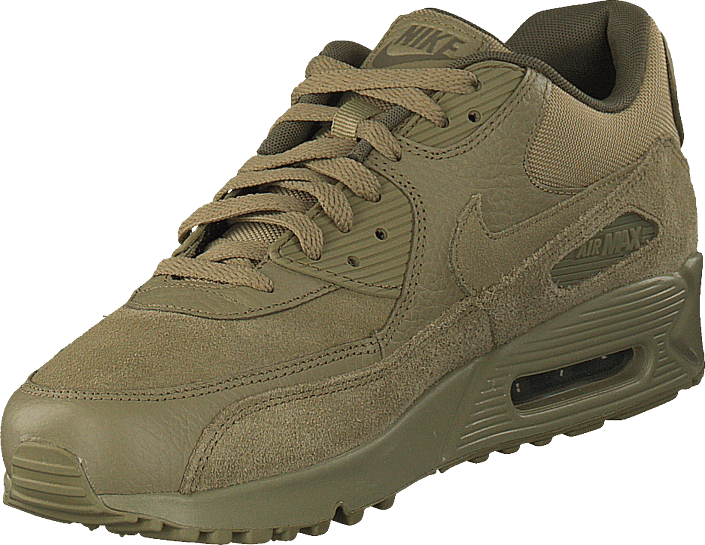 Men's Nike Air Max 90 Premium Oliveneutral Olive Medium