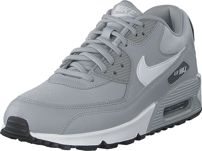 finest selection c04ae 9eb71 Nike - Wmns Air Max 90 Grey white-dark Grey-black