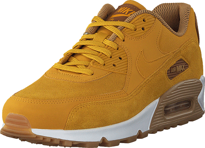 nike air max 90 brown yellow