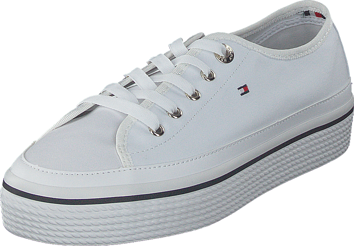 84a33d4ad2fb Buy Tommy Hilfiger Kelsey 1 White grey Shoes Online