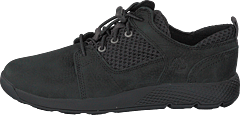 Flyroam L/f Oxford Jet Black Barefoot Buffed