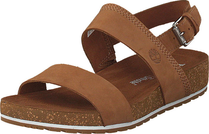 Saddle Timberland 2 Waves Sandal Malibu bands Kjøp brune Naturebuck BCrdxeo