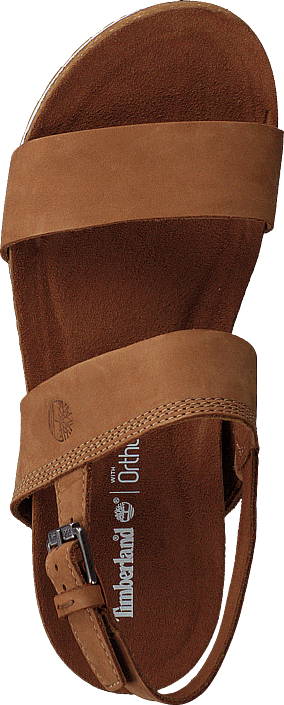 Timberland - Malibu Waves 2-bands Sandal Saddle Naturebuck