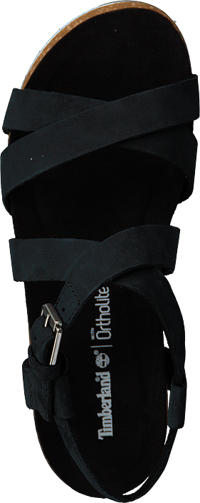 Timberland - Malibu Waves Ankle Sandal Jet Black Naturebuck