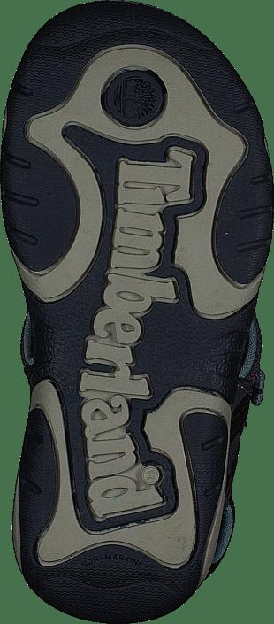 Park Hopper L/f 2-strap Sandal Black Iris