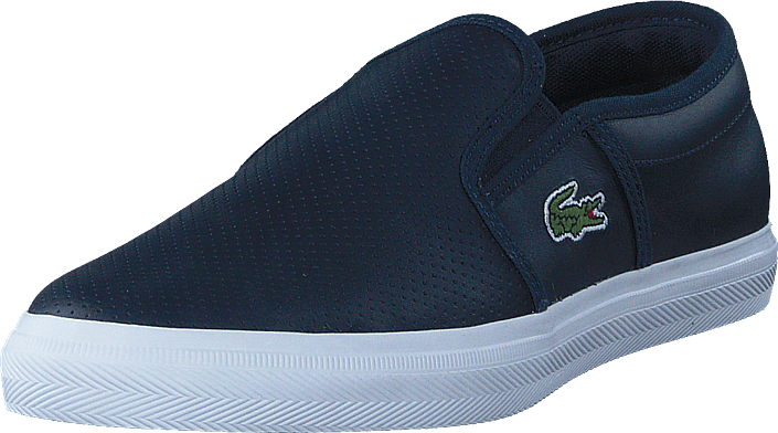 183bc63c3fc5e9 Buy Lacoste Gazon Bl 1 Navy blue Shoes Online