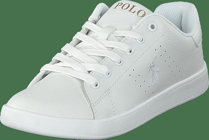 Ralph Lauren Junior - Quilton J White Leather W White Pp Gold