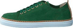 Silvermine Low Green Suede
