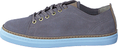 Silvermine Low Grey Suede