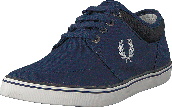 Fred Perry - Stratford Canvas French Navy / Snow White