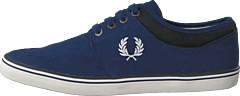 Stratford Canvas French Navy / Snow White
