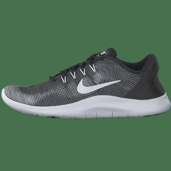Kjøp Nike Flex Rn 2018 Black White sko Online | FOOTWAY.no